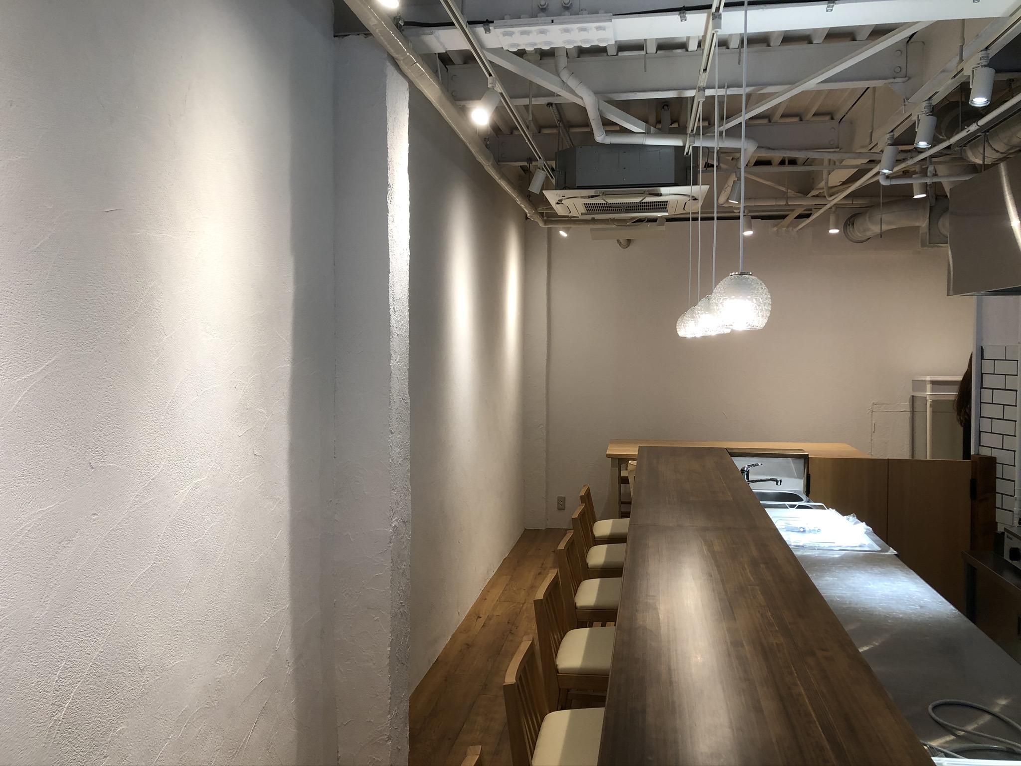 新町カフェ内装工事のアイキャッチ